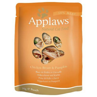 Applaws Cat Chicken Breast With Pumpkin 70gPouch - The Happy Dolphin Pets