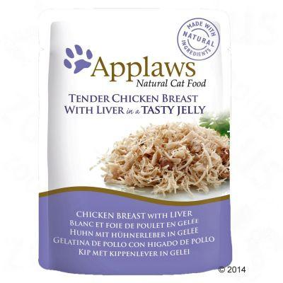 Applaws Chicken Breast With Liver In Jelly 70gPouch - The Happy Dolphin Pets
