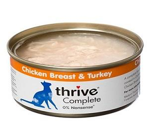 Thrive Chicken Breast & Turkey Cat Food 75g - The Happy Dolphin Pets
