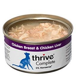 Thrive Chicken Breast & Liver Cat Food 75g - The Happy Dolphin Pets
