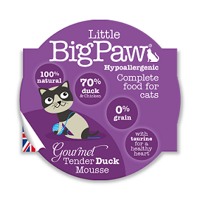 Little Big Paws Gourmet Tender Duck Mousse 85g - The Happy Dolphin Pets