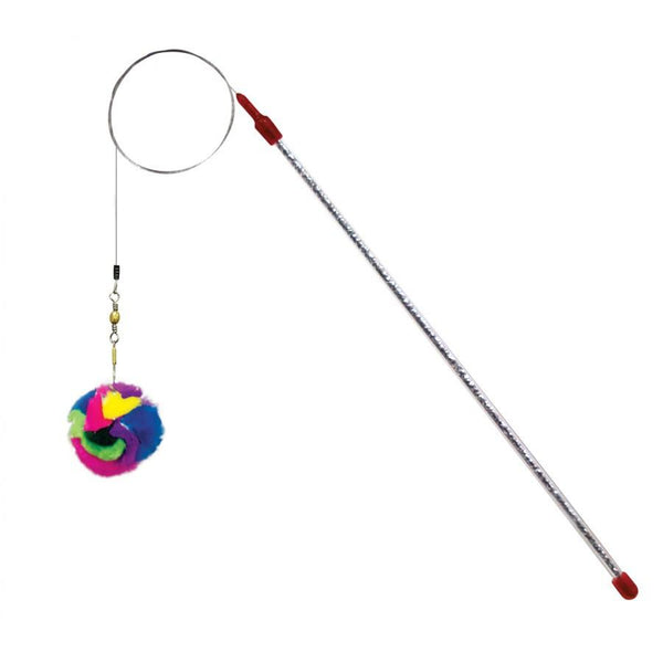 GoCat Da Ball Wand THE ORIGINAL - Made in USA - The Happy Dolphin Pets