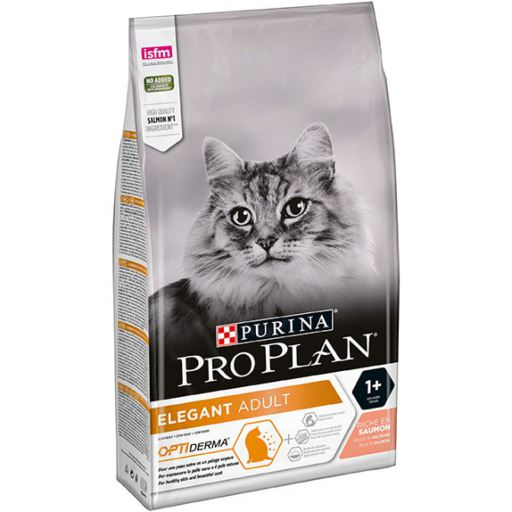 Purina Pro Plan Elegant OptiDerma Salmon Adult Cat Food 1.5kg
