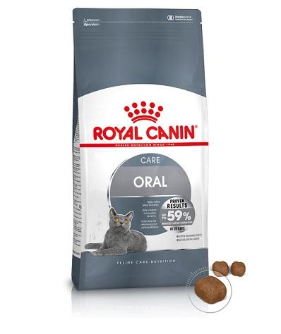 Royal Canin Oral Care Dry Cat Food 1.5kg - The Happy Dolphin Pets