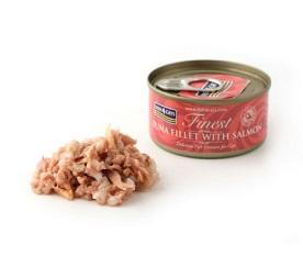 Fish4Cats Finest Tuna Fillet With Salmon Wet Food 70g - The Happy Dolphin Pets
