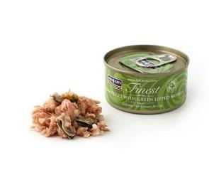 Fish4Cats Finest Tuna Fillet With Green Lipped Mussel Wet Food 70g - The Happy Dolphin Pets