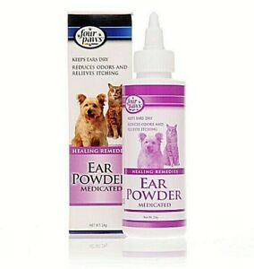 Four Paws Ear Powder - The Happy Dolphin Pets