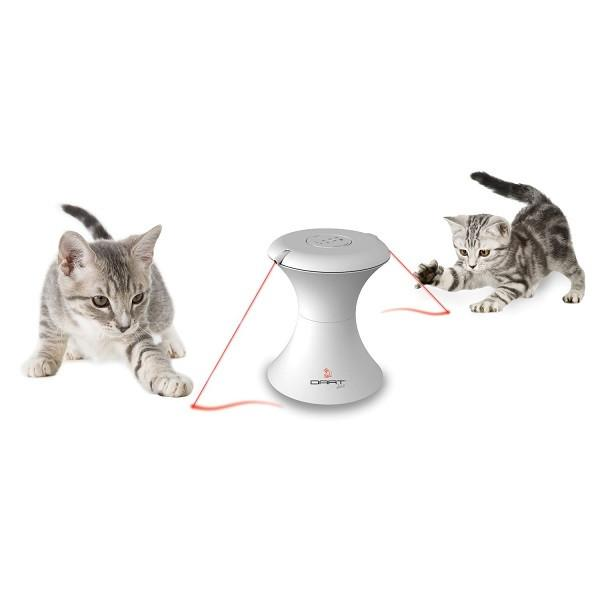 FroliCat DART DUO Automatic Rotating Laser Light - The Happy Dolphin Pets