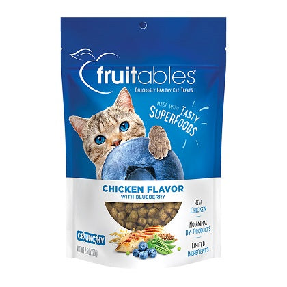 Fruitables Chicken Flavor with Blueberry Cat Treats - Dubai