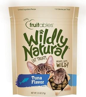 Fruitables Wildly Natural Cat Treats - Tuna Flavor (71g) - The Happy Dolphin Pets