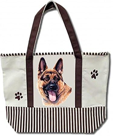 German Shepherd Tote Bag - The Happy Dolphin Pets