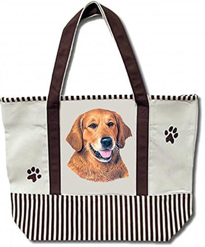 Golden Retriever Tote Bag - The Happy Dolphin Pets