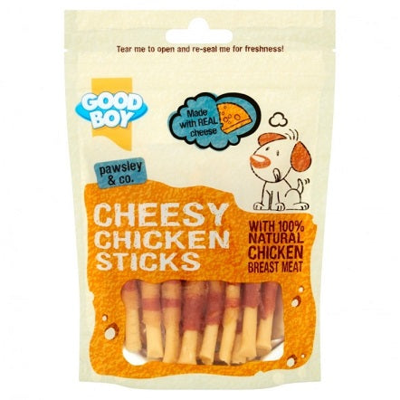 Armitage Good Boy Chicken Cheese Stick Dog Treat 80G - The Happy Dolphin Pets
