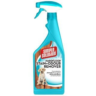 Hardfloor Stain & Odour Remover 32 OZ from Simple Solution - The Happy Dolphin Pets