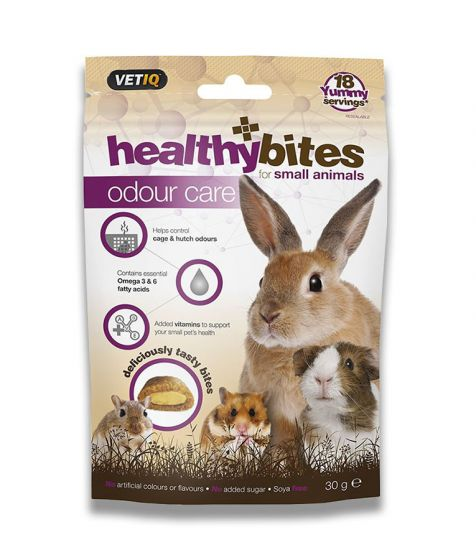 Healthy Bites Odour Care Treats For Small Animals - Dubai