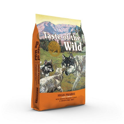High Prairie with buffalo and lamb Puppy Food - The Happy Dolphin Pets