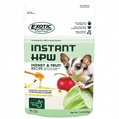 INSTANT-HPW Honey & Fruit Recipe 1LB - The Happy Dolphin Pets