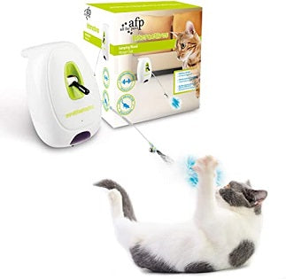 Interactive Cat Jumping Wand - The Happy Dolphin Pets