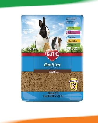 KT Clean & Cozy Natural Brown 250CU/4.3Litres - The Happy Dolphin Pets