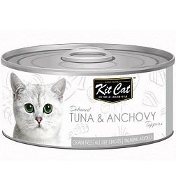 Kit Cat Deboned Tuna & Anchovy - 80g - The Happy Dolphin Pets