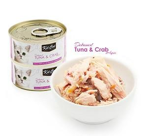 Kit Cat Deboned Tuna & Crab - 80g - The Happy Dolphin Pets