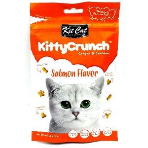 Kit Cat Kitty Crunch Salmon Cat Treat 60g - The Happy Dolphin Pets