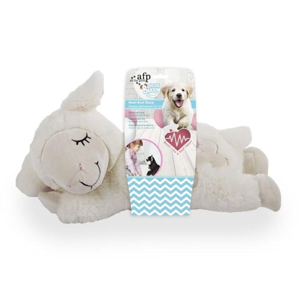 All For Paws Little Buddy Heart Beat Sheep - The Happy Dolphin Pets