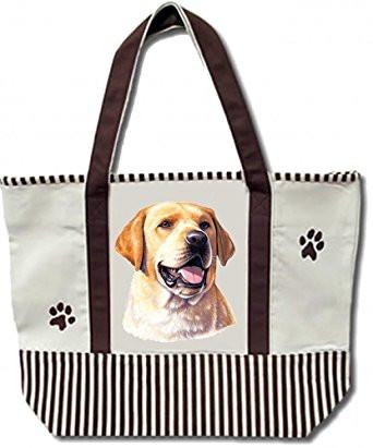 Yellow Labrador Tote Bag - The Happy Dolphin Pets
