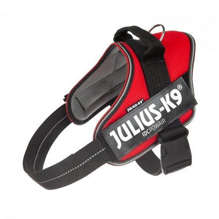Julius K9 IDC® POWAIR SUMMER Harness Large Red - Chest Girth 63 - 85 cm
