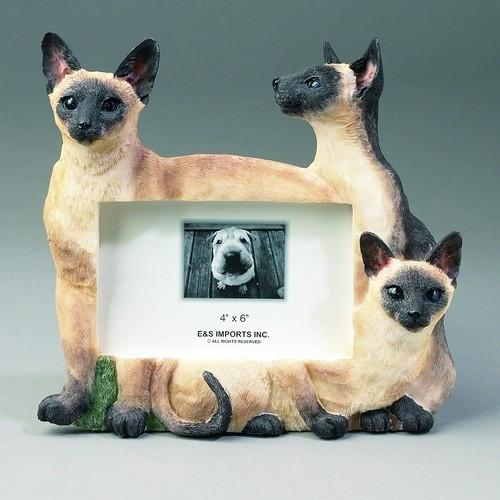 Large Siamese Cat Frame - The Happy Dolphin Pets