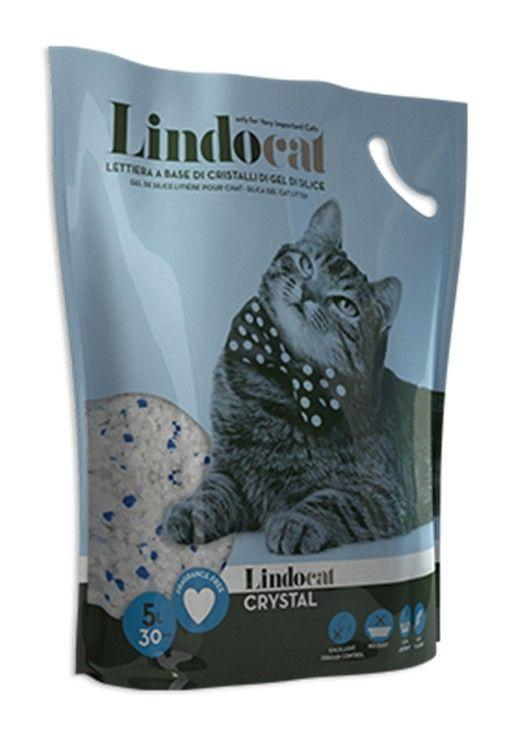 Lindocat  Crystal SilicaGel Cat Litter 5L - The Happy Dolphin Pets