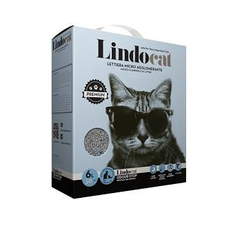 Lindocat Odour Stop Clumping Cat Litter 6L - The Happy Dolphin Pets