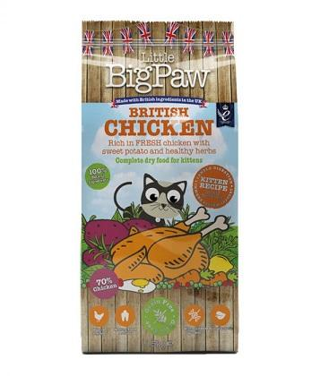 Little Big Paw British Chicken for Kitten 1.5kg - The Happy Dolphin Pets