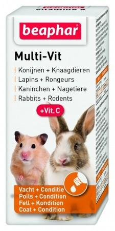 MULTI-VIT RODENTS - 20 ML - The Happy Dolphin Pets