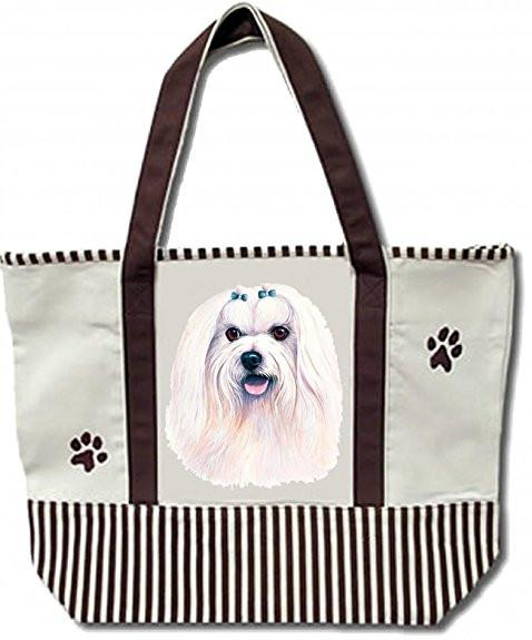 Maltese Tote Bag - The Happy Dolphin Pets