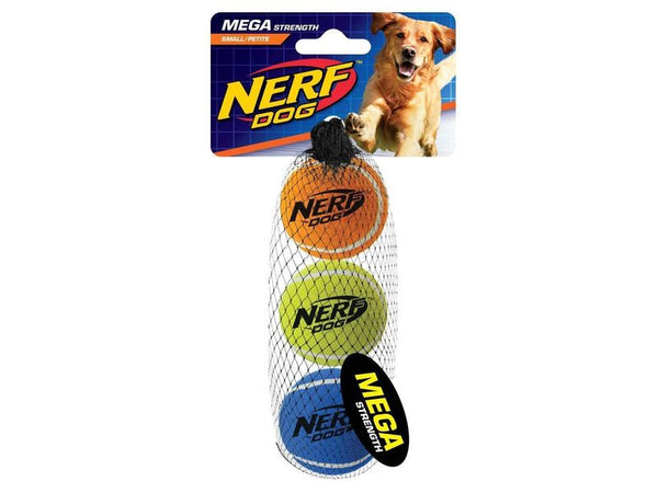 Mega Strength Balls Dog Toy Small (3 per pack) - The Happy Dolphin Pets