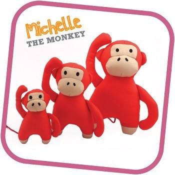 Michelle The Monkey From Beco - Small - Medium & Large - The Happy Dolphin Pets