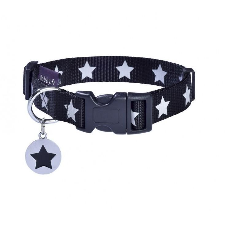 Bobby Midnight Black Collar