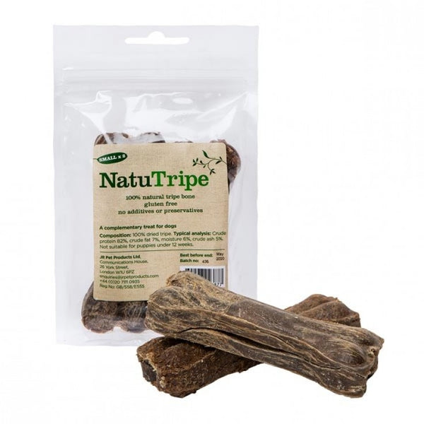 "Natutripe Small 4"" Bone Natural Dog Treats 2 per pack - The Happy Dolphin Pets"