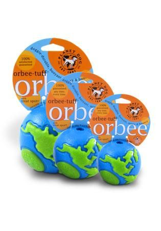 Planet Dog Orbee-Tuff Orbee Ball Blue