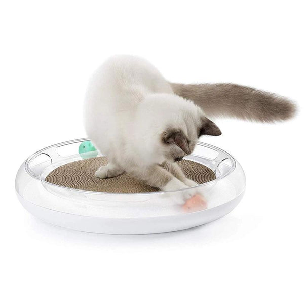 PETKIT - FUN 4 IN 1 CAT SCRATCHER - The Happy Dolphin Pets