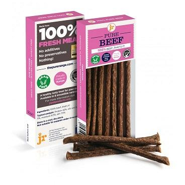 PURE BEEF STICKS 50g - The Happy Dolphin Pets