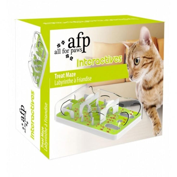 All For Paws Maze Feeder For Cat with adjustable difficulties level