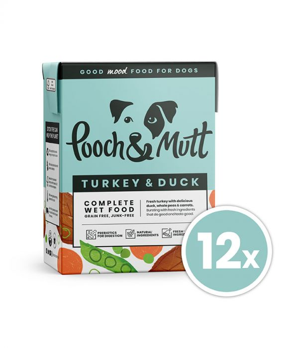 Pooch & Mutt Turkey & Duck Dog Wet Food