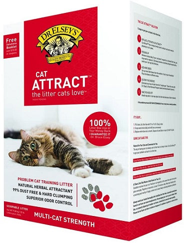 Dr. Elsey's Precious 99% Dust Free Hard Clumping Cat Attract™ 9kg - The Happy Dolphin Pets