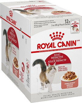 Royal Canin Instinctive In Gravy Wet Cat Food - The Happy Dolphin Pets