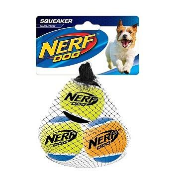 "SQUEAKER TENNIS BALL - MEDIUM 2""/ 3 per pack"