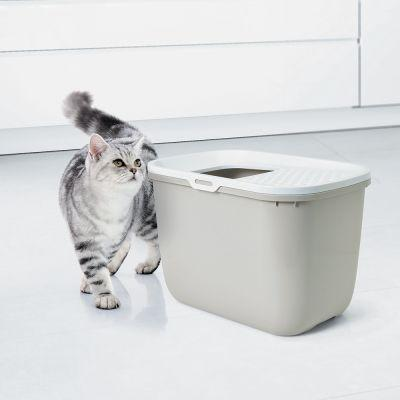 Hooded Litter Boxes and Trays for Cats - Cat Litter Box in Dubai
