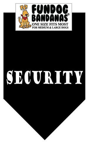 Security/ Black Color Bandana