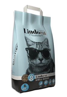 Lindocat Smell Good Clumping Cat Litter 8L - The Happy Dolphin Pets